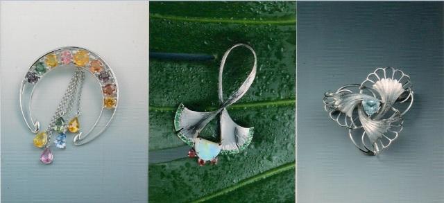 藍妙齡慕風珠寶系列一